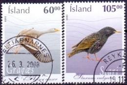 IJsland 2005 Vogels GB-USED. - 1944-... Republique