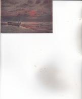 CPA SALON De PARIS. ( Demont Adrien.) Soir Ardent : WISSANT. - Illustrateurs & Photographes