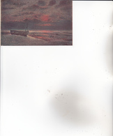 CPA SALON De PARIS. ( Demont Adrien.) Soir Ardent : WISSANT. - Künstlerkarten
