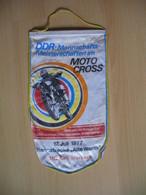 MOTOCROSS.MOTO CROSS.Flag.DDR.MC Kali Merkers.ADMV - Habillement, Souvenirs & Autres