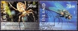 IJsland 2005 Insecten II GB-USED. - 1944-... Republique