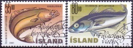 IJsland 2001 Vissen GB-USED. - 1944-... Republique