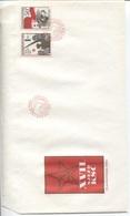 CSSR # 2853-4 FDC. KPC, Rote Fahne Landwirtschaft Industrie. Ersttagssonderstempel - FDC