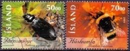 IJsland 2004 Insecten I GB-USED. - 1944-... Republique