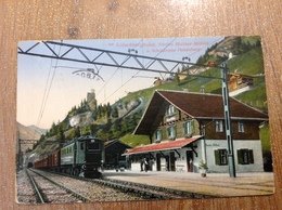 Blausee Mitholz Station - Suisse