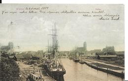Allemagne WISMAR Hafen Bateau Colorisé - Wismar