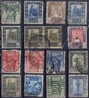 ITALIE ! Timbres Anciens De LIBYE De 1921 Et 1924 - Libia