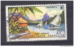 Polynésie  -  Avion  -  1964  :  Yv   9   (o) - Oblitérés