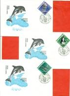 USSR 1991.FDC.Black Sea Fauna. - Marine Life