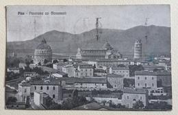 PISA - PANORAMA COI MONUMENTI   VIAGGIATA FP - Pisa
