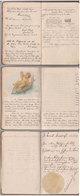Carnet Poésie 1921  Ancien Allemand - Autres Collections