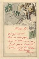 -ref-B196- Illustrateurs - Illustrateurs - Femme - Femmes - Editeur M. M. Vienne - N° 127 - Carte Bon Etat - - Illustrateurs & Photographes