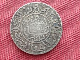 MAROC Monnaie De 2 1/2 Dirham 1299 En Argent - Maroc
