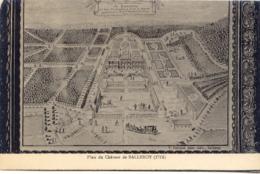 CPA - BALLEROY - PLAN DU CHATEAU EN 1715 (T.B.E.) - Autres Communes