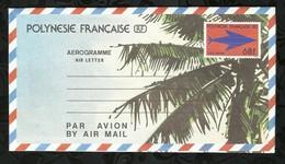 POLYNESIE FRANCAISE . AEROGRAMME . 68FR . - Aérogrammes