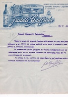 B3230- S. Venerina, Fattura Distilleria Fratelli Giuffrida 1930 - Italie