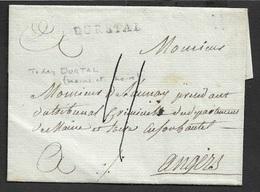 LAC - DURETAL 28mm X 3mm - ( Maine Et Loire ). Ind. 17 - 1801-1848: Précurseurs XIX