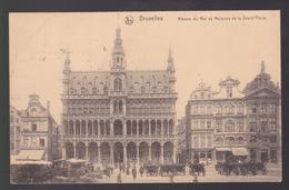 BRUSSEL   MAISON DU ROI ET MAISONS DE LA GRAND PLACE - Places, Squares