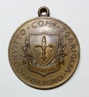 FOLIGNO - Convitto Comunale SGARIGLIA - Medaglia Per 2° PREMIO (Bronzo - 34 Mm - Prod. Johnson - Opus: E. Diano) - Italia