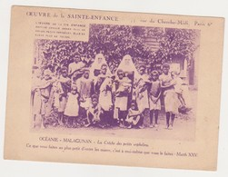 26559 OCEANIE - MALAGUNAN Crêche Orphelins Oeuvre Sainte Enfance Paris BON Pour Baptêmes Enfants Rachat Abandonné - Papua New Guinea