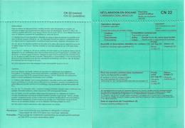 Serbia Customs  Declaration Label CN22 Declaration En Douane CN 22 - Serbie
