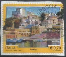 ITALIA REPUBBLICA ITALY REPUBLIC 2013 PROPAGANDA TURISTICA TOURISM PONZA USATO USED OBLITERE' - 6. 1946-.. Repubblica