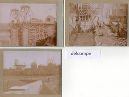3 Photos Anciennes  - Comptoir Des Ardoises D' Anjou - RENAZE (53) Ou TRELAZE (49) - Orte