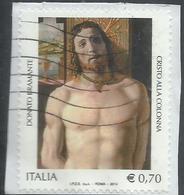 ITALIA REPUBBLICA ITALY REPUBLIC 2014 PATRIMONIO ARTISTICO E CULTURALE DONATO BRAMANTE € 0,70 USATO USED OBLITERE' - 6. 1946-.. Repubblica