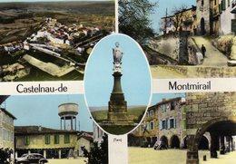 DPT 81 CASTELNAU-de-MONTMIRAIL Multivues - Castelnau De Montmirail