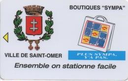 Carte De Stationnement Sur Horodateurs : Ville De Saint-Omer - Frankrijk