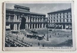 FIRENZE - PIAZZA VITTORIO EMANUELE II VIAGGIATA FG - Firenze