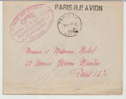 """1932 - REGIE AIR AFRIQUE """" Ligne Alger / Gao / Bamako """" De Paris R.P Avion / LSC De 1932 Pour Paris TB - Marcophilie (Lettres)"""