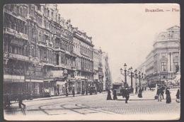 BRUSSEL.  PLACE DE BROUKÈRE - Avenues, Boulevards