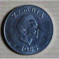 Pièce Zambie, 20 Ngwee, 1985 - Zambie