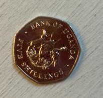 Pièce Ouganda, 5 Shillings,1987 - Ouganda