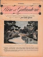 Juin 1903 - RIRE Et GALANTERIE - Recueil Hebdomadaire D'images Galantes Publié John Grand-Carteret - N° 2 - 1900 - 1949