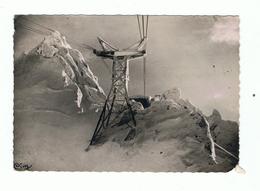 LE MONT DORE SANCY - 63 - PYLONE DU TELEFERIQUE Dans Les AIGUILLES Par Temps De Givre - Bas Droit Abimé - Le Mont Dore