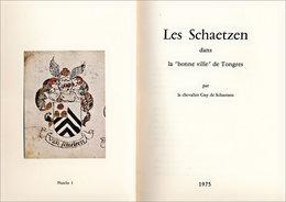 Généalogie Schaetzen, De Tongres - Biographie