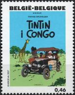 BELGIQUE 3620 ** MNH Centenaire HERGE Tintin Kuifje : Au Congo - Comics