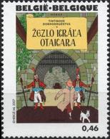 BELGIQUE 3626 ** MNH Centenaire HERGE 2007 Tintin Kuifje : Le Sceptre D'Ottokar - Bandes Dessinées