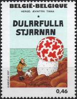 BELGIQUE 3628 ** MNH Centenaire HERGE 2007 Tintin Kuifje : L'étoile Mystérieuse - Bandes Dessinées