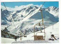 LA FOUX D'ALLOS .- Station De Sport D'Hiver- Le Telesiège Du Signal - Autres Communes