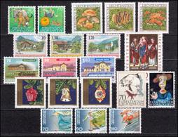 1145-1164 Liechtenstein Jahrgang 1997 Komplett, Postfrisch - Liechtenstein
