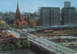 Australia >  Victoria (VIC) > Melbourne, Entering The City From Princes Bridge, Unused, Mint - Melbourne
