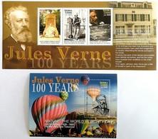 # Sierra Leone 2005**Mi.4848-51 Jules Verne , MNH [16;87] - Schriftsteller