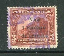NICARAGUA- Y&T N°382- Oblitéré - Nicaragua