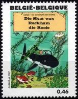 BELGIQUE 3630 ** MNH Centenaire HERGE 2007 Tintin Kuifje : Le Trésor De Racham Le Rouge - Bandes Dessinées