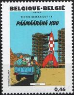 BELGIQUE 3635 ** MNH Centenaire HERGE 2007 Tintin Kuifje : Objectif Lune - Comics