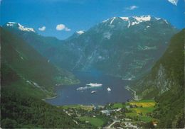 Norway - Geiranger Fjord - Cruiser - Dampfer - Nice Stamp - Norwegen