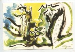 1974 Edouard Pignon 1905/1993 - Solidarité Chili Résistance Du Peuple (carte Double Vierge) - Peintures & Tableaux